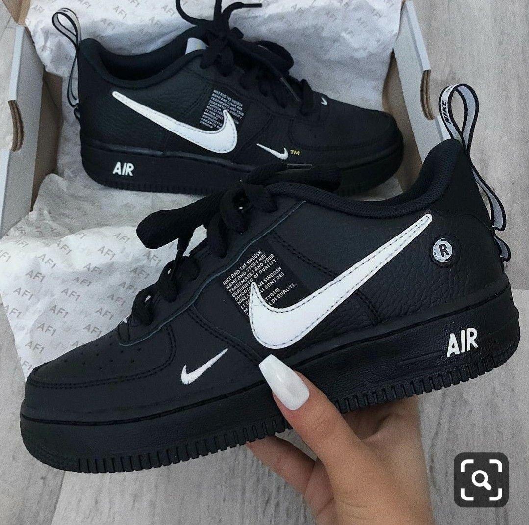Black nike shoes, Nike air shoes, Black
