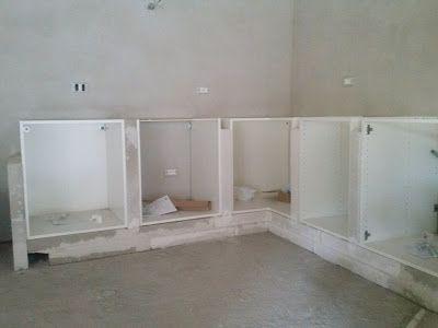l\'eco del mondo: COSTRUIRE UNA CUCINA IN MURATURA CON MOBILI IKEA ...