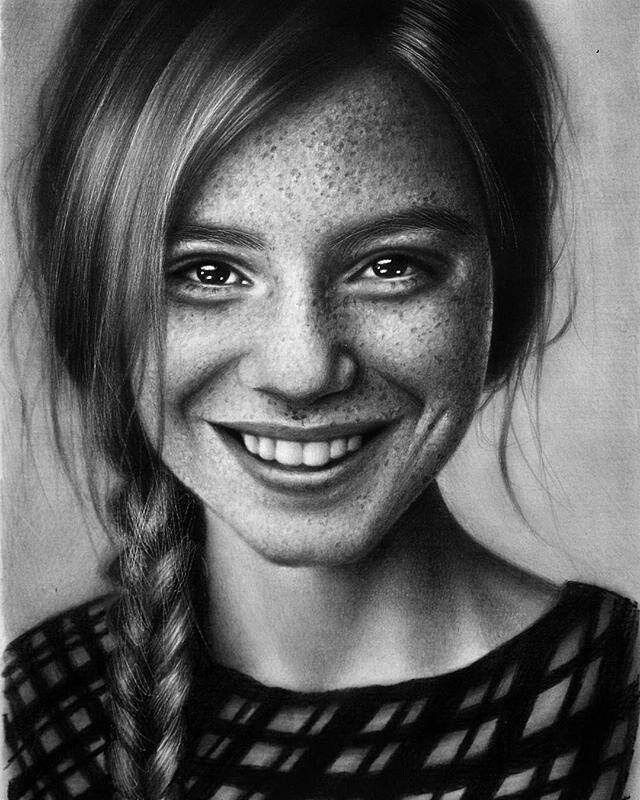 боях было фотографии для рисования портрета карандашом днем ветеринара