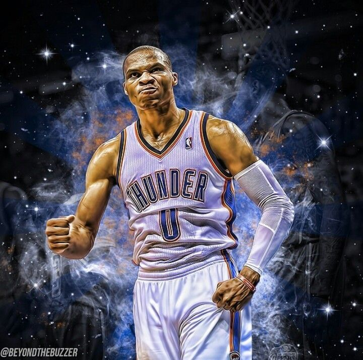 russell westbrook Drawing Russell Westbrook NBA