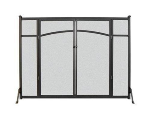 Panacea 15910 Flat Panel Fireplace Screen With Doors, 31\