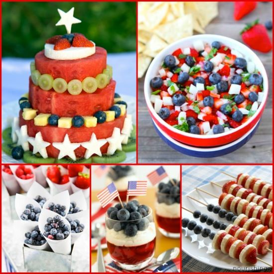 Healthy And Festive 4th Of July Recipes Appetite For Health Food Healthy Desserts Food And Drink
