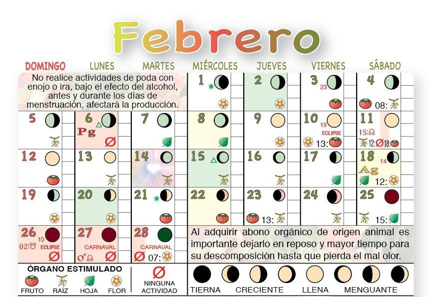 Fases Lunares Calendario Agricola Lunar Calendario Calendario Lunar Efectos Del Alcohol
