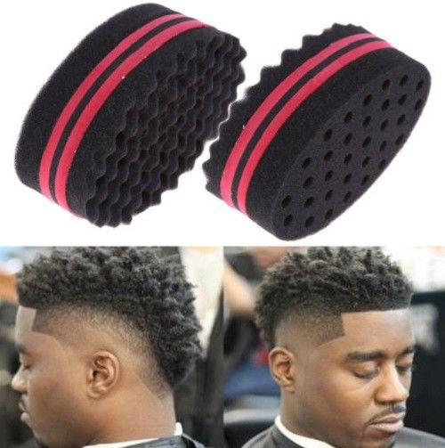 Home Appliance Parts Cleaning Appliance Parts Provided Double Sided Barber Hair Brush Sponge Dreads Locking Twist Coil Afro Curl Wave Big Clearance Sale