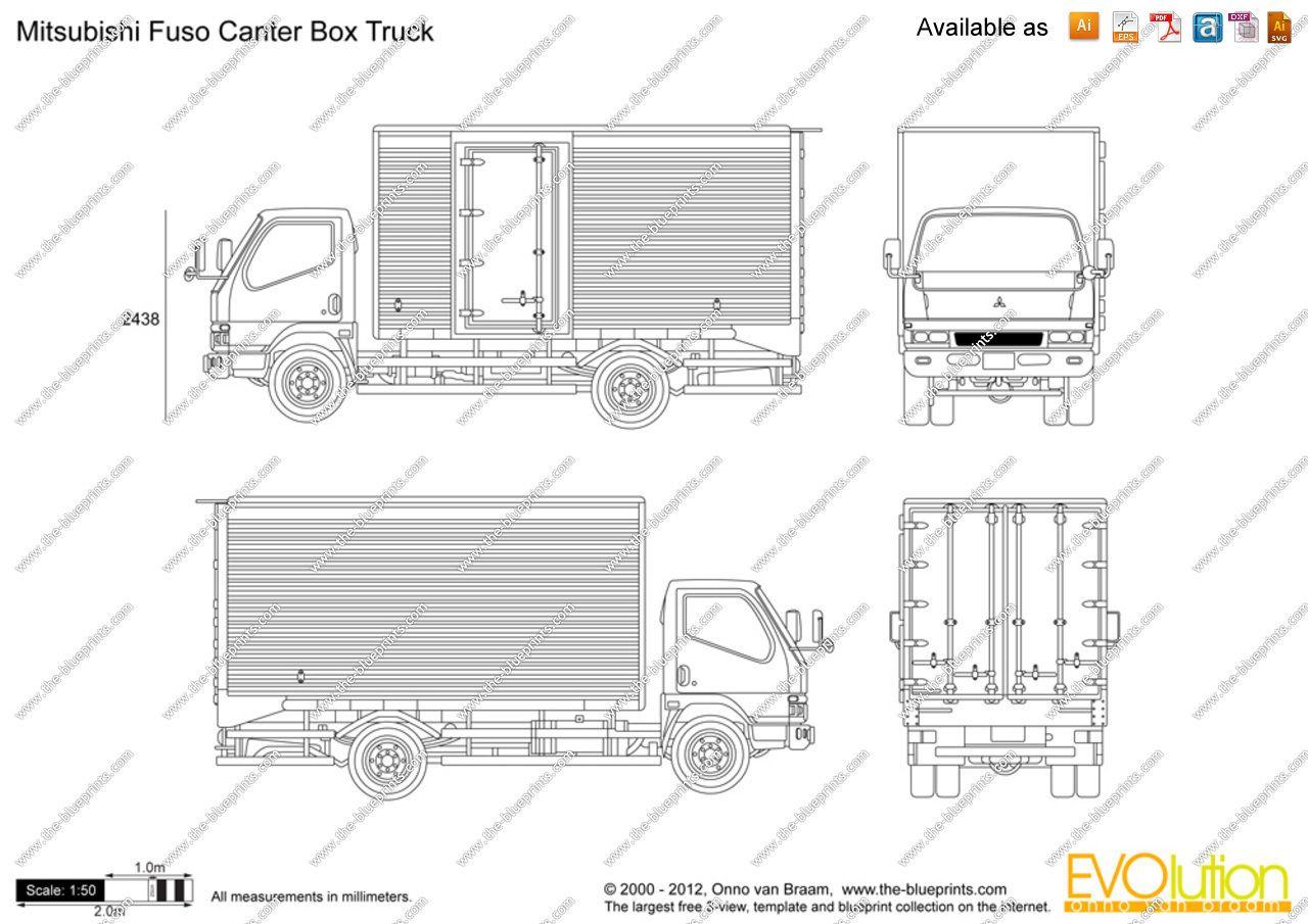 mitsubishi_fuso_canter_box_truck.jpg (1280×905) Cool