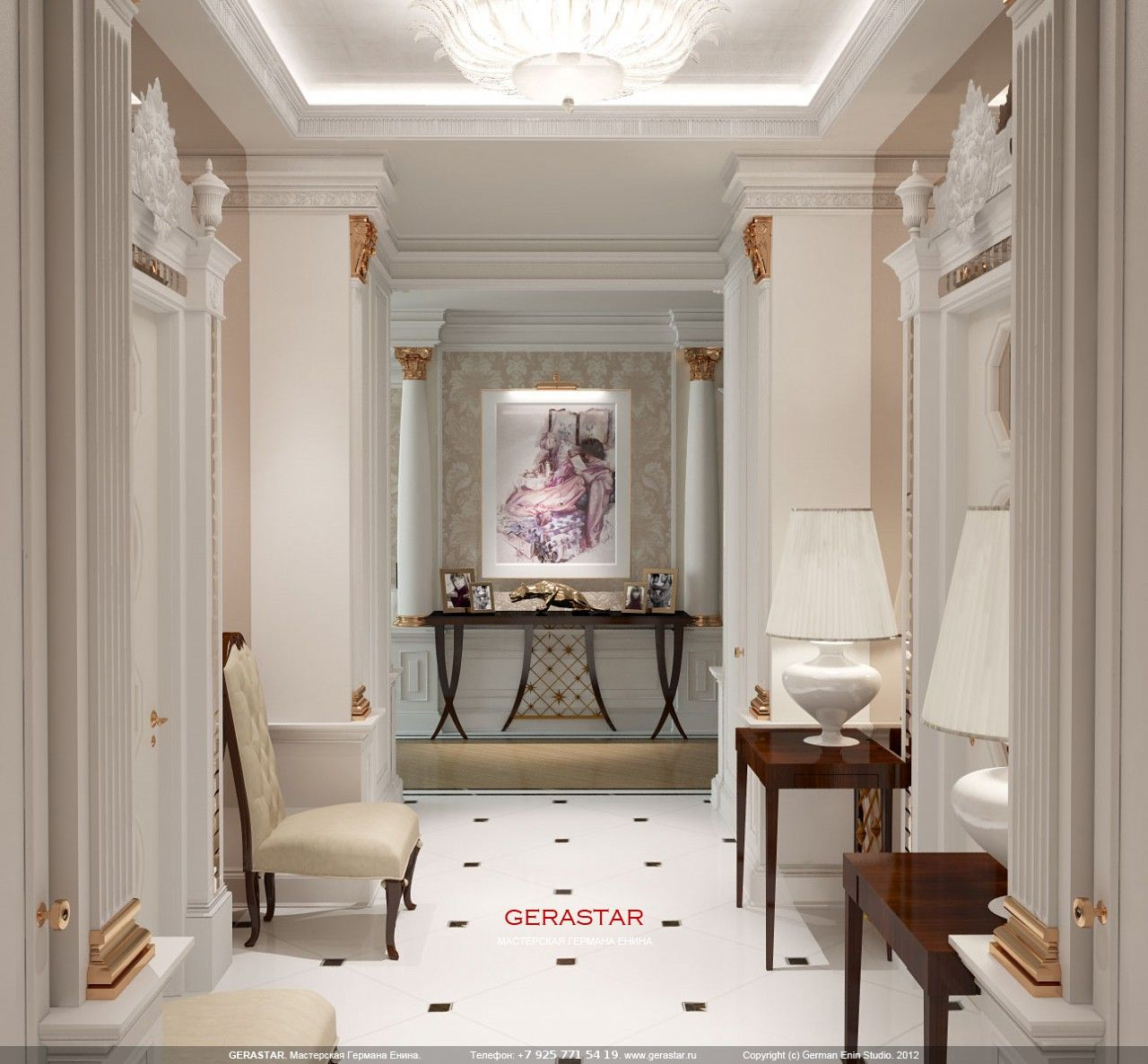 A Beautiful Foyer Designed By Christopher Guy Harrison Entryway  # Muebles Christopher Guy