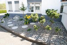 Beet Mit Kies Gestalten Kies Und Steine Im Garten Pictures To Pin Best Garten Ideen Garten Vorgarten Garten Ideen