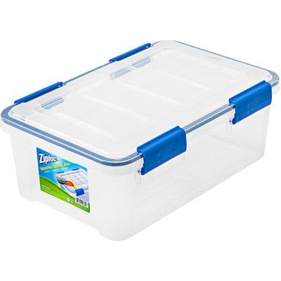 Ziploc Weathershield Storage Box Plastic Box Storage Plastic Storage Plastic Storage Totes