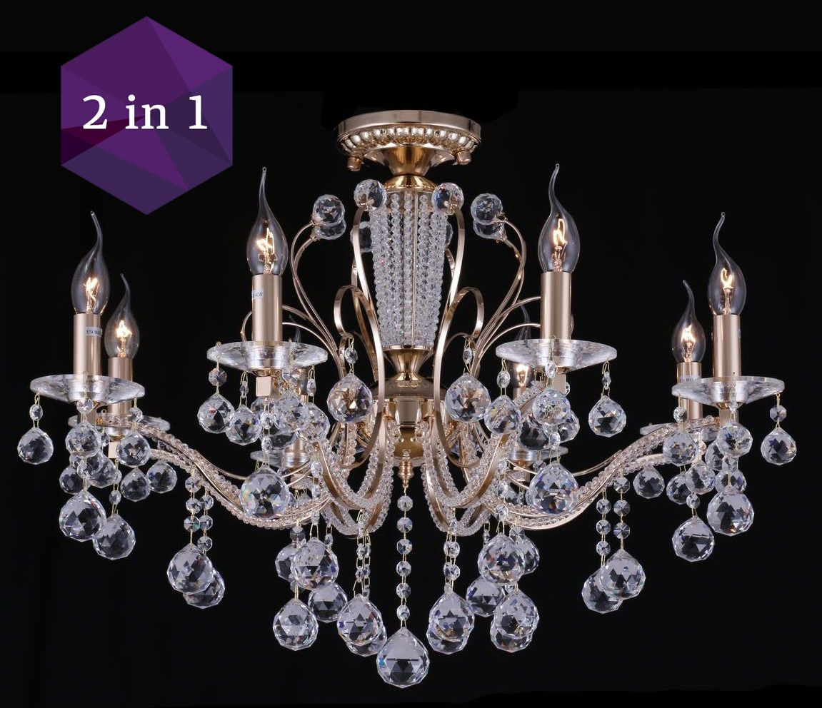 Wh wholesale vintage lead crystal table lamp buy cheap -  Diamant Crystal Marlin Dia130 08 G