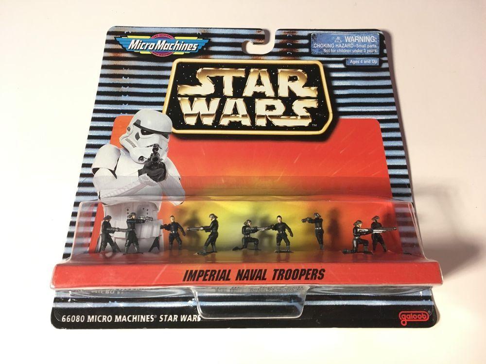 """Star Wars Micro Machines Imperial Stormtrooper 1/"""" Figure Storm Trooper Galoob"""