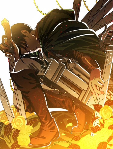 Levi 'Rivaille' (Shingeki no Kyojin) Fan Art: Levi  Heichou