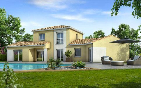 Plan de maison moderne Ancolie facade Pinterest House - Modeles De Maisons Modernes