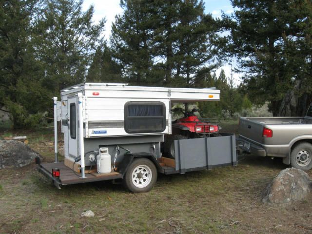 Anyone Modified There Trailer To Pull A Pop Up Camper Yamaha