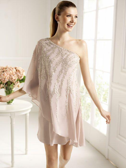 2af6c48dc Trendencias - Empieza la temporada de bodas  vestidos cortos para bodas de  mañana