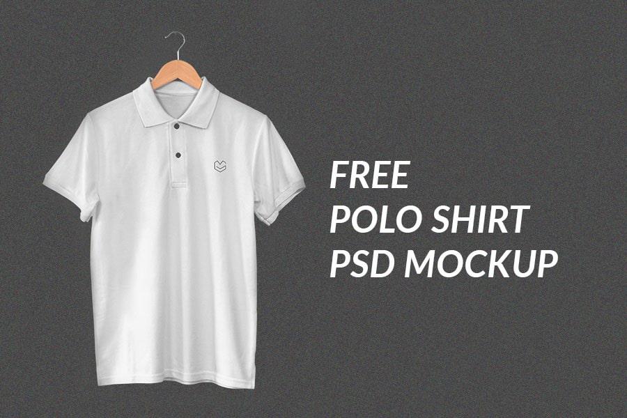 Free Mockup Hanging Polo Shirt Commercial Use Fonts Graphics Freebies Polo Shirt Polo Shirt Design Shirts