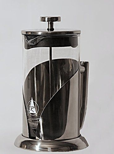 MarkusR Large French Coffee Press - 1 liter, 34oz - Stainless Steel, 2mm thick Borosilicate Glass Carafe Markus Reichenberger http://www.amazon.com/dp/B017PD5D5G/ref=cm_sw_r_pi_dp_jeF0wb14RTQF5 #french #press