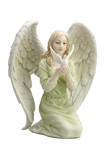 Angel Kneeling With Dove In Hands Statue Sculpture Remarkable Product Available Now Christmas Decorations Hand Statue Sculpture Hand Sculpture