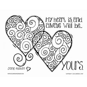 Valentines Coloring Pages for 9  Heart coloring pages