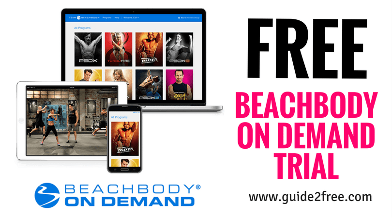 FREE 14 Day Beach Body on Demand Trial Free beach body