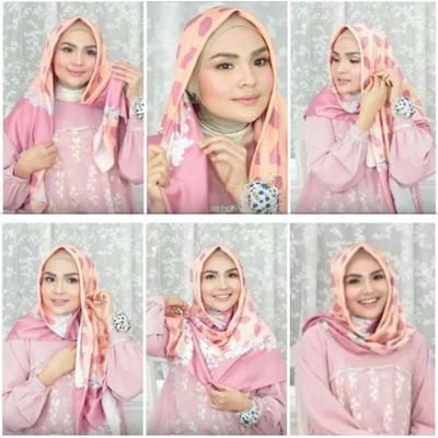Get Tutorial Hijab Segi Empat Ibu Pejabat Images