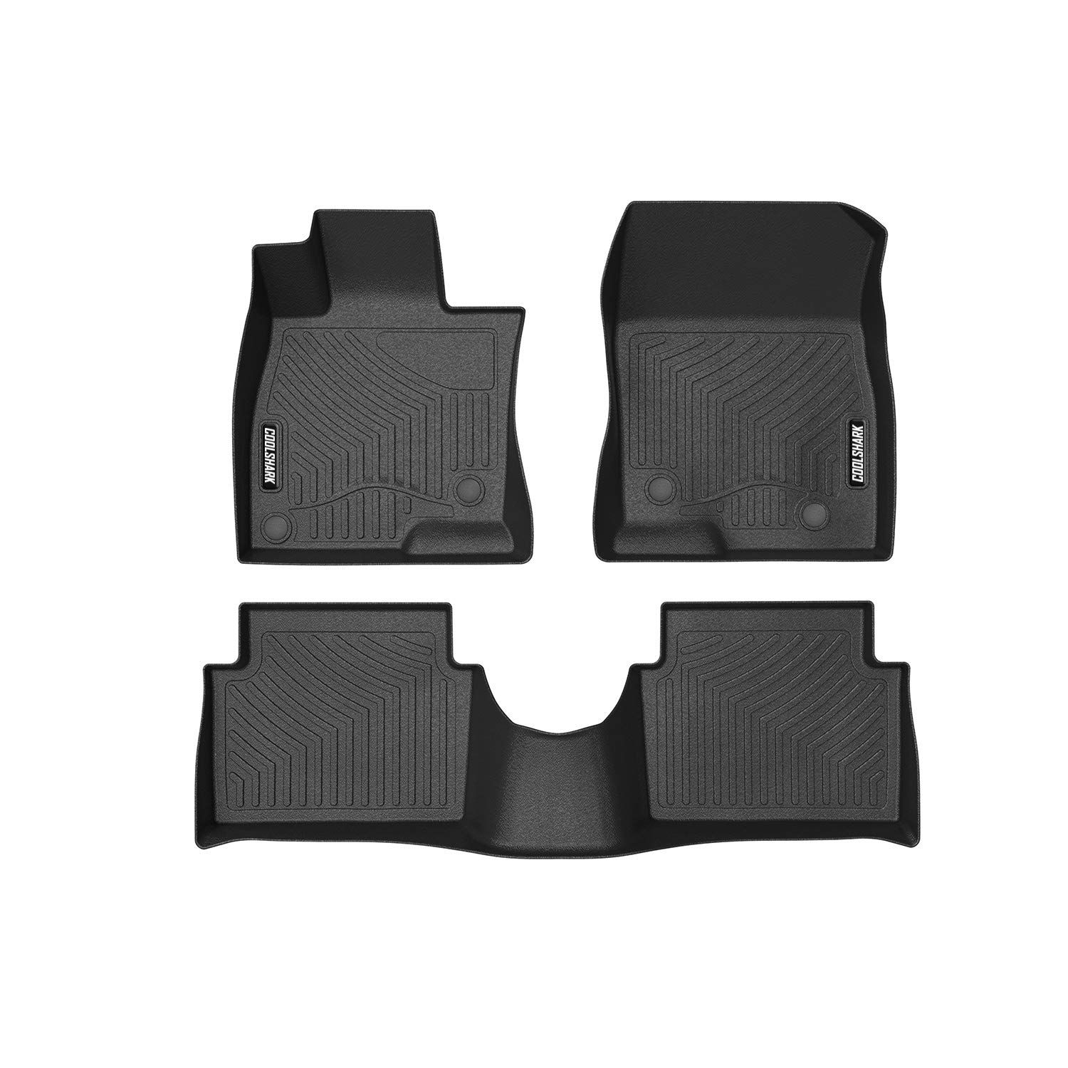 Coolshark Mazda 3 Floor Mats Waterproof Floor Liners Custom Fit