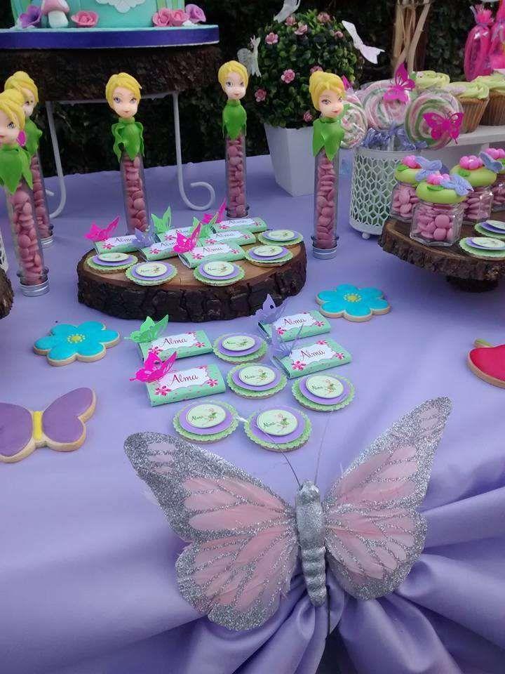 Tinkerbell Birthday Party Ideas | Birthday parties ...