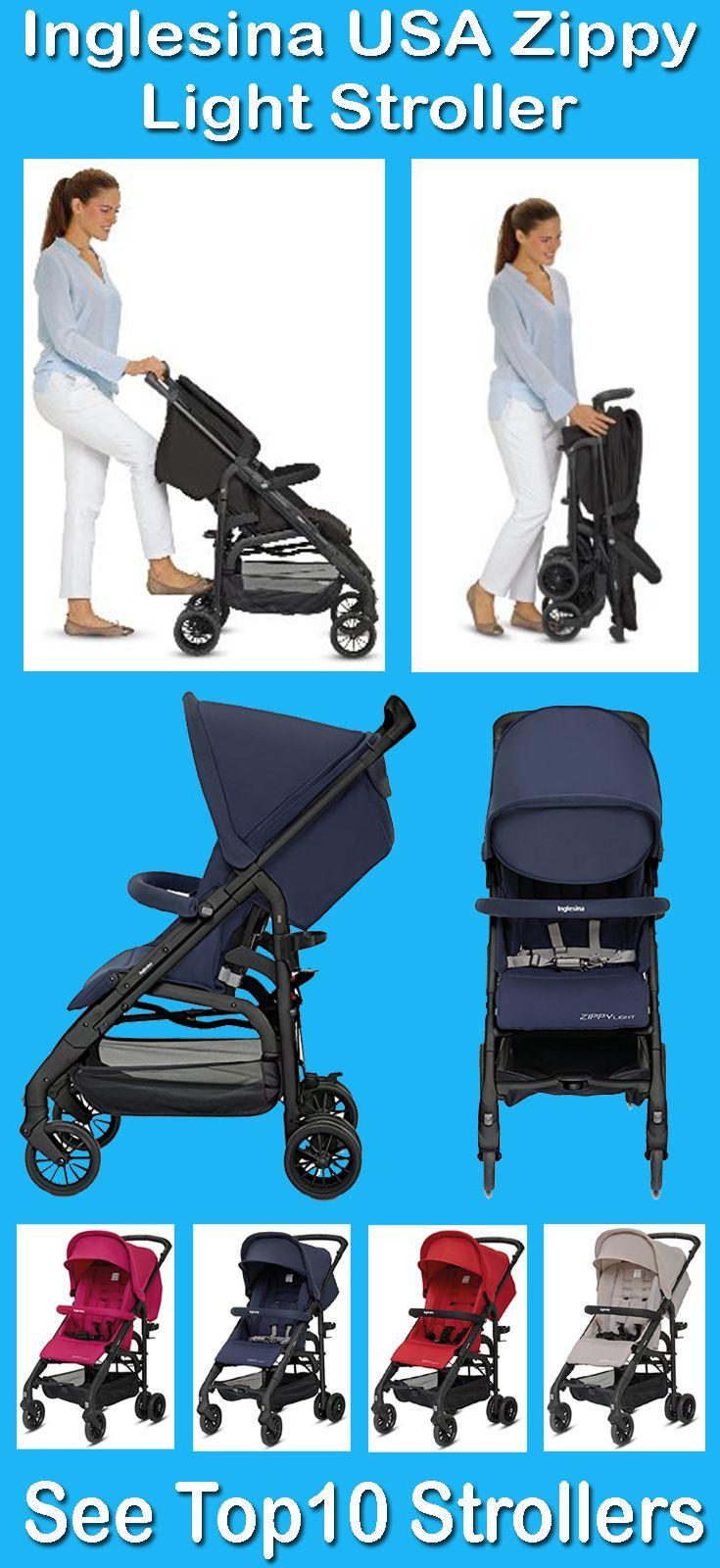 Inglesina Zippy Light Stroller features 3 position fully
