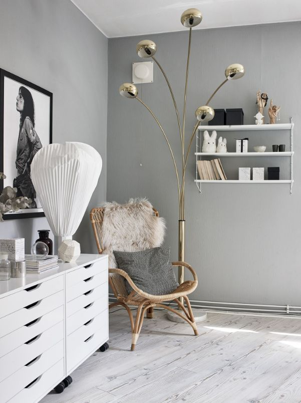 Black, white and vintage | Büros, Schlafzimmer und Papier