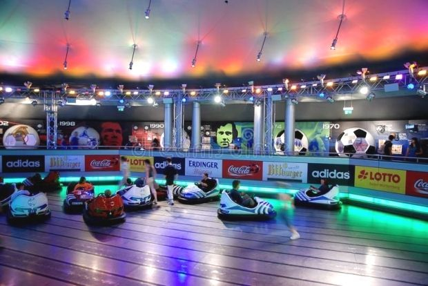 Photo About Inside Bumper Car Hall In The Biggest Amusement Park In Germany Europa Park In Rust Image Of Play Head Event 20135683 Amusement Park Amusement Bumpers