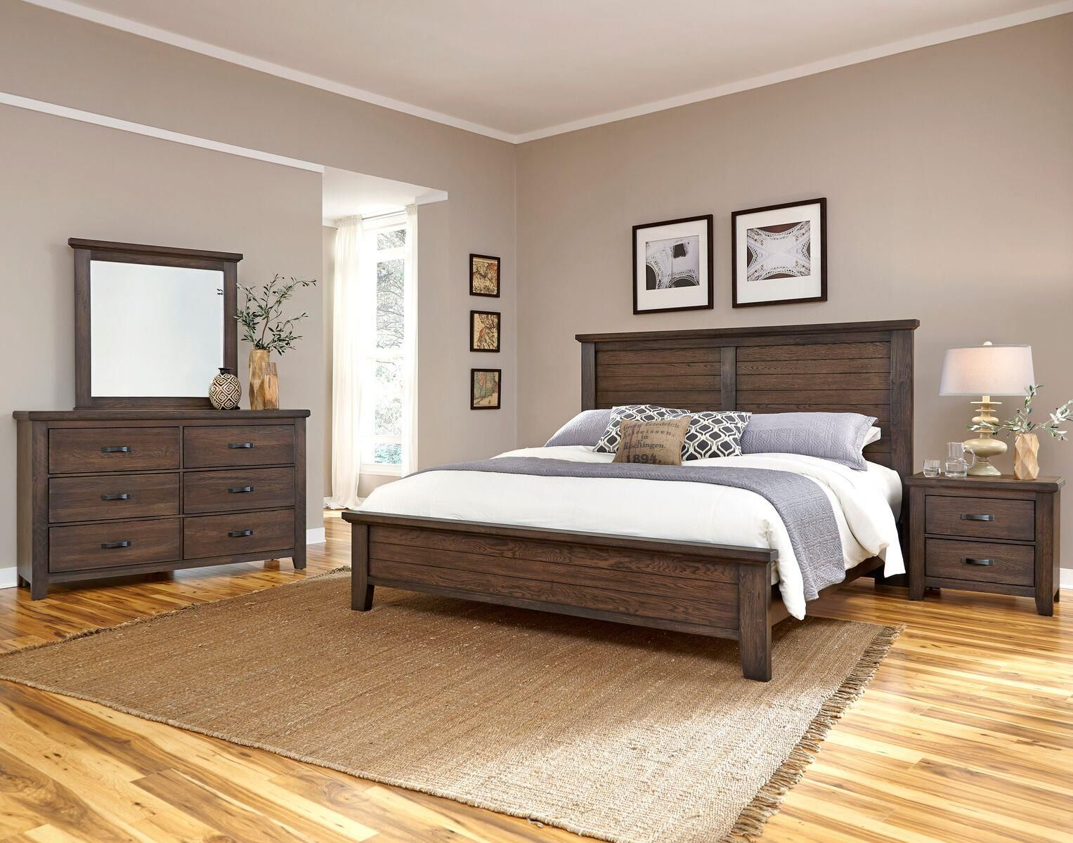 Gramercy park queen bedroom group by vaughan bassett for the home