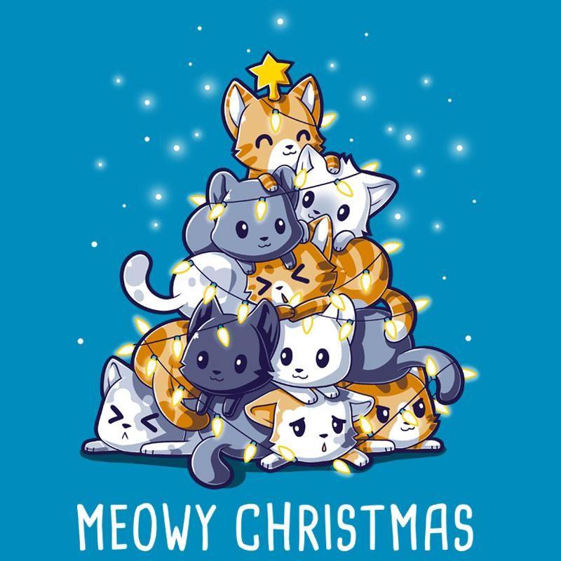 Meowy Christmas.Meowy Christmas T Shirt Standard Unisex S Tee Shirts