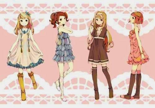 anime fashion outfits google search anime girl fashion