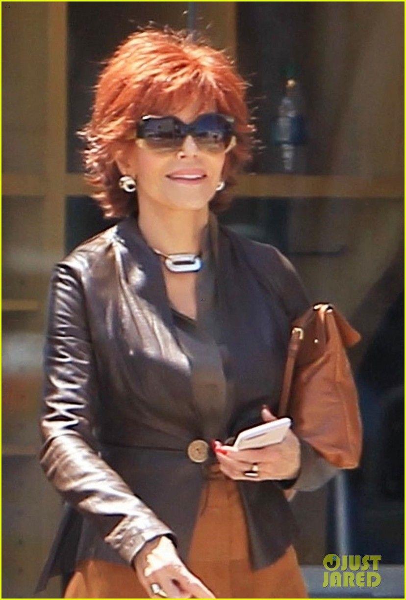 Jane Fonda Begins Filming Book Club Jane Fonda Hairstyles Hairstyle Books Club Hairstyles