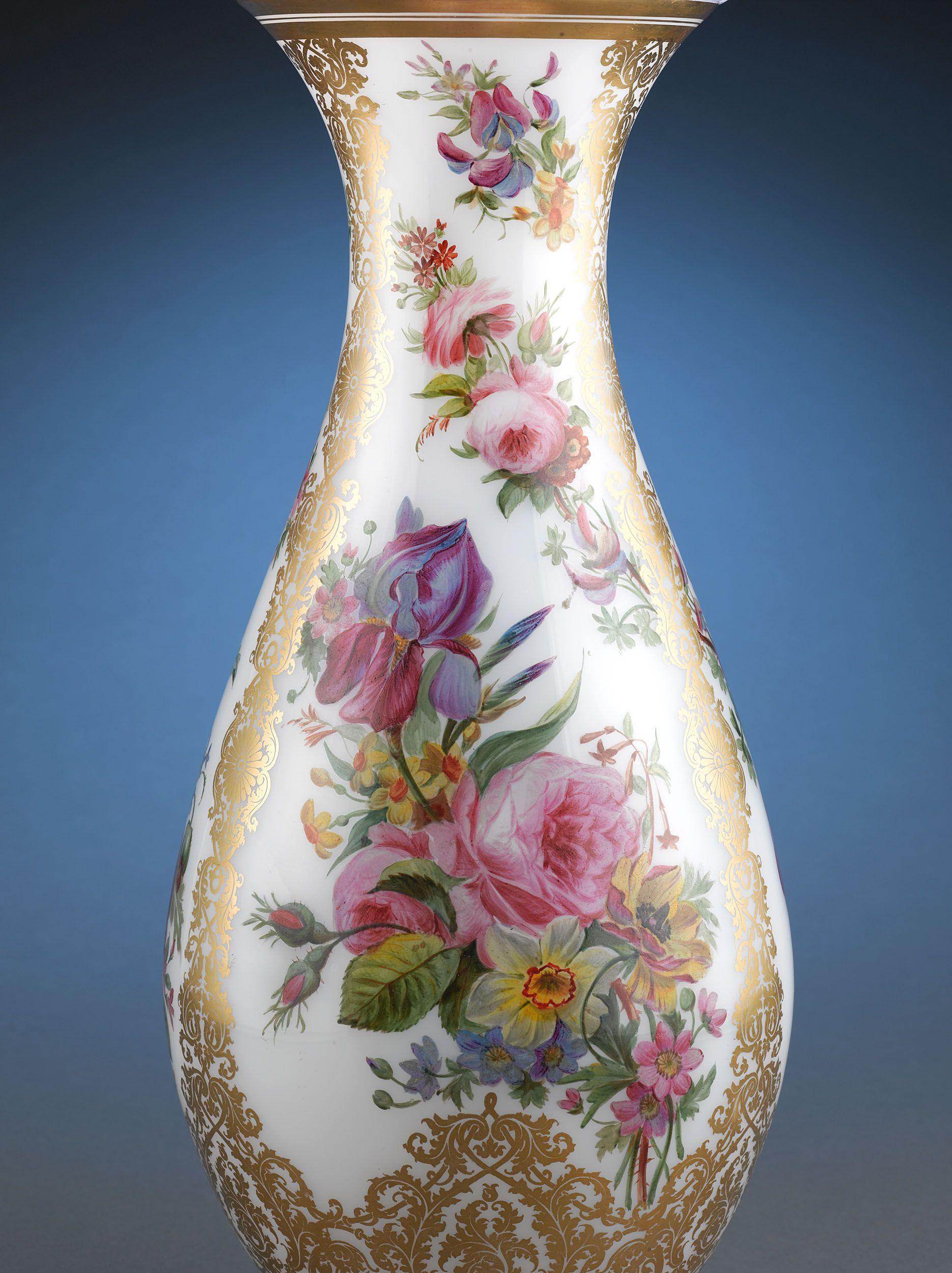 Antique glass baccarat glass opaline glass vase ms rau antique glass baccarat glass opaline glass vase ms rau antiques reviewsmspy