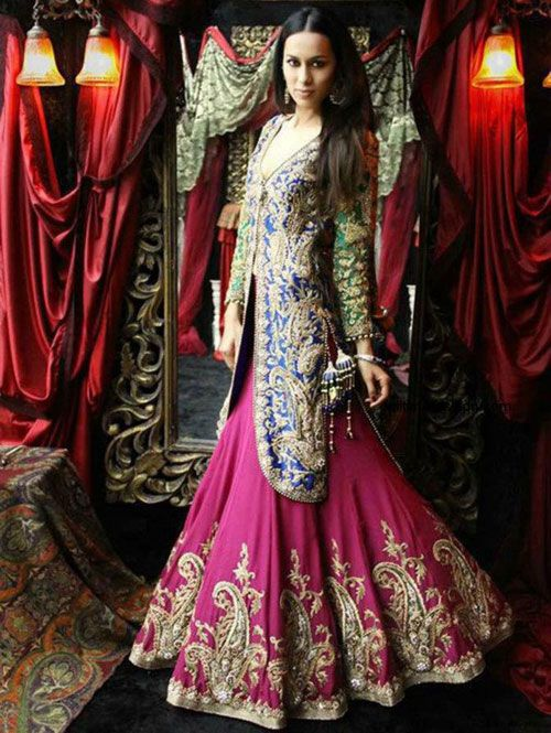 Modern Beach Wedding Lehenga Pakistani Bridal Dresses Latest
