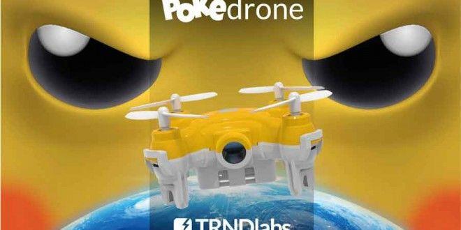 Pokédrone: Is this a good idea to play Pokémon Go using drone?