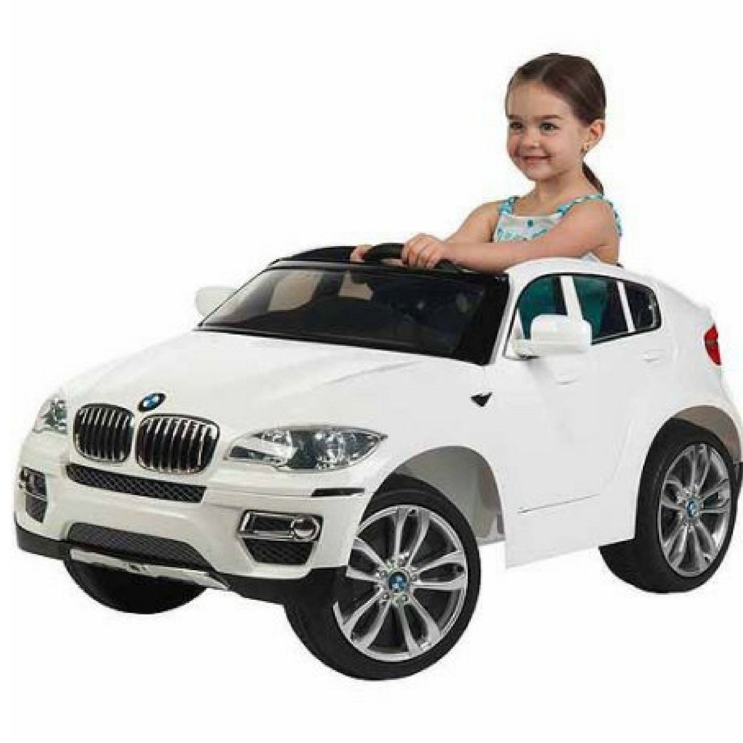 Toys car battery  Battery Operated Ride On Toys  Volt BMW Car Remote Control Kids