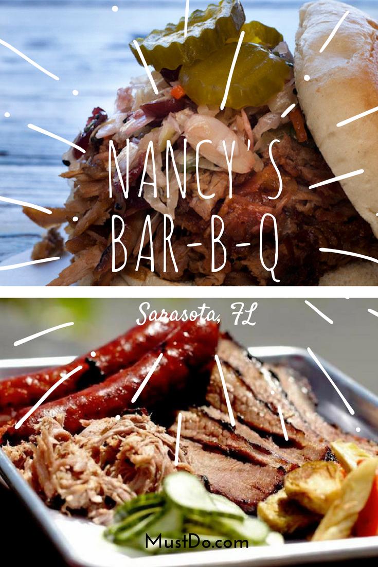Nancy S Bar B Q In Sarasota Must Do Visitor Guides Barbecue Restaurant Sarasota Carolina Style Pulled Pork