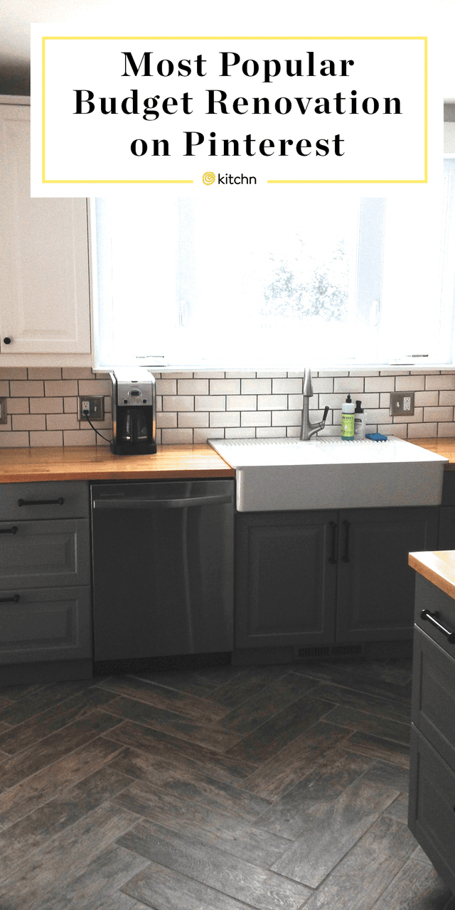 This Is The Most Popular Budget Kitchen Renovation Project On