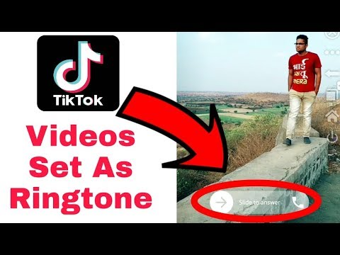Make A Tiktok Sound Ringtone Are You Thoght How To Make A Video Your Ringtone From Tik Tok It Doesn T Take Much Best Ringtones Make A Ringtone Video Setting