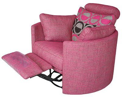 Chairs Recliner Pink Chair Pink Living Room