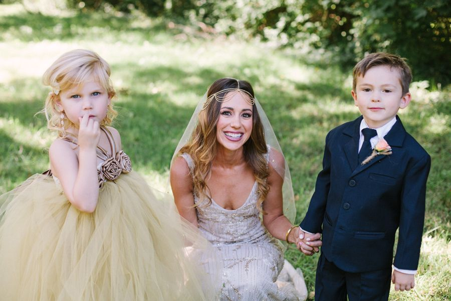 The Cutest Little Parts of the Day | Flower Girl & Ring Bearer