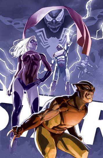Dark Avengers by Matteo Buffagni