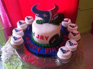 Texans Birthday Party
