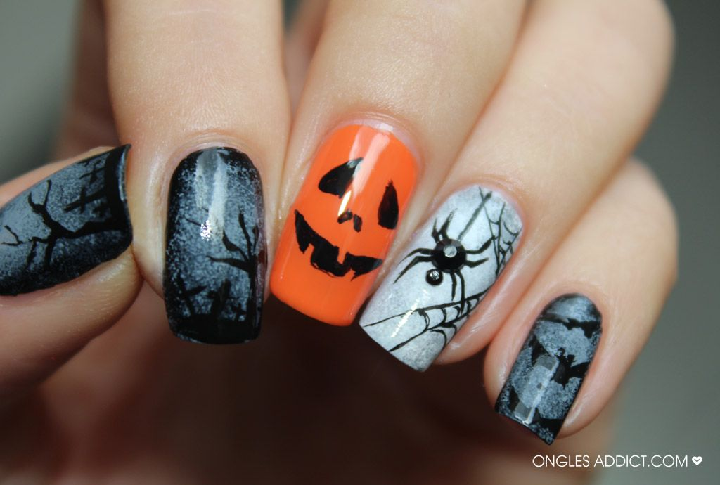 Halloween Ongles Addict nail nails nailart