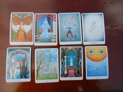 RARE FROWN STRONG TAROT DECK - Hard to find -Tarot of Frown