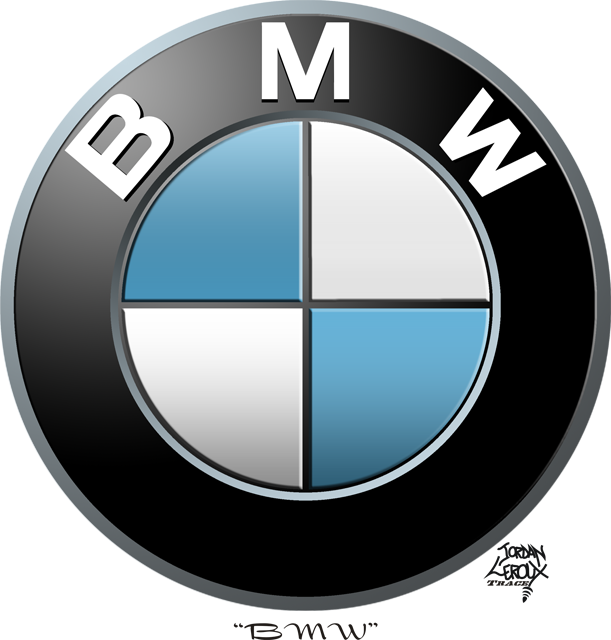 Logo Vector B Bmw Logo Free Logo Vector Graphics Download