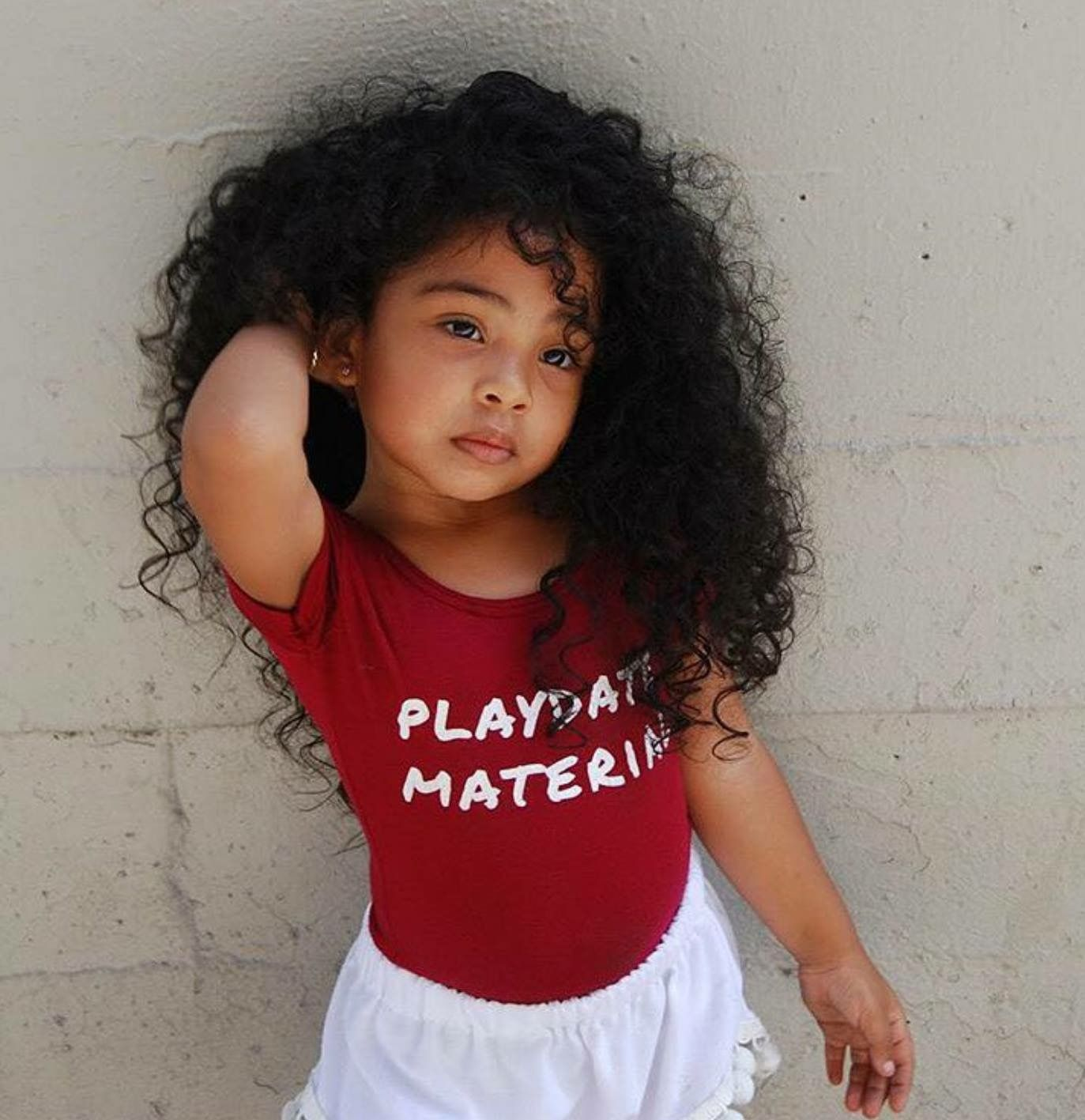 Baby Mixed with curly hair