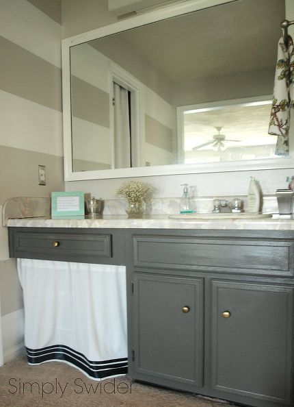 how to update your master bathroom for free, bathroom ideas, diy