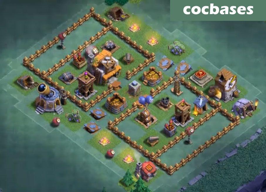 14 Best Builder Hall 5 Base Links 3500 Cups Anti 1 Star Builder Layout Best
